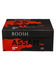 ROOSH DIP TEA ASSAM (100 NAKED TEA BAGS)