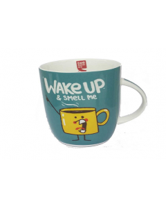 COOL MUG - WAKE UP & SMELL ME