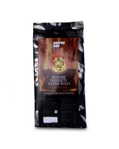 MYSORE NUGGETS EXTRA BOLD - SINGLE ORIGIN COFFEE POWDER (PACK OF TWO)