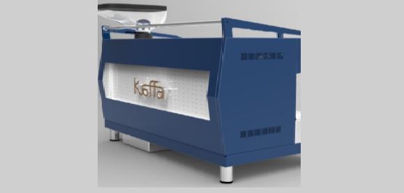 Kaffa - Semi Automatic Vending Machine | Cafe Coffee Day